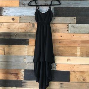 Derek Heart Dresses - Black Highlow Dress
